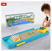 Mini Bowling Game Interactive Toy